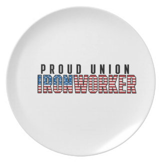 Union Ironworker Plate