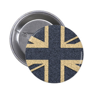 Union Jack 6 Cm Round Badge
