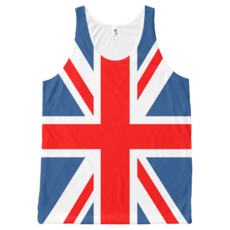 Union Jack All-Over Print Singlet