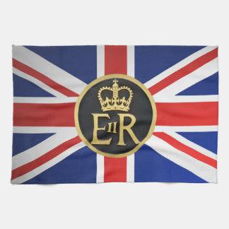 Union Jack and Royal Jubilee. Tea Towel