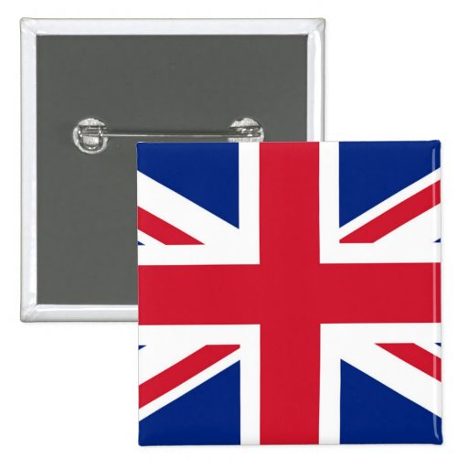 Union Jack - badge Pin