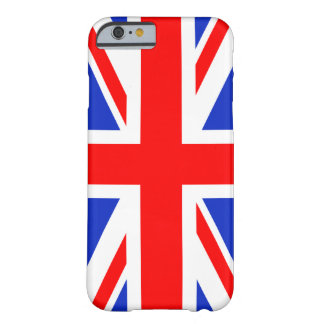 """""""UNION JACK"""" BARELY THERE iPhone 6 CASE"""
