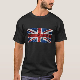 Union Jack Basic Dark T-Shirt, Black T-Shirt