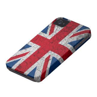 Union Jack Blackberry covering Case-Mate iPhone 4 Case