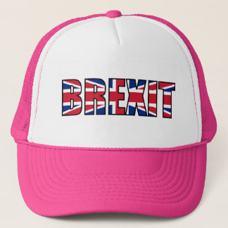 Union Jack Brexit, W-P Trucker Hat