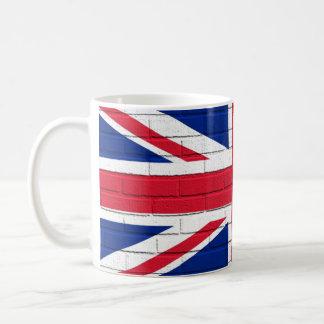 Union Jack Bricks Basic White Mug