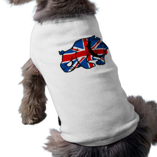Union Jack British Bulldog Shirt
