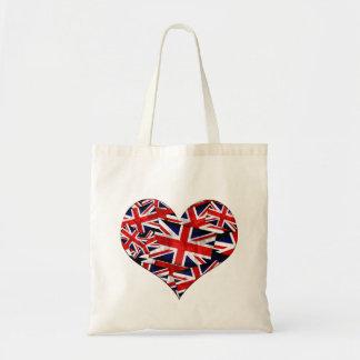 Union Jack British England UK Flag Tote Bag