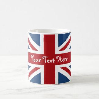 Union Jack British Flag Basic White Mug