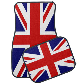 Union Jack British Flag Car Mat