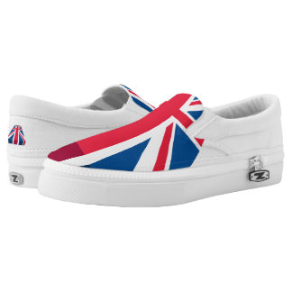 Union Jack, British flag in 3D Printed Shoes