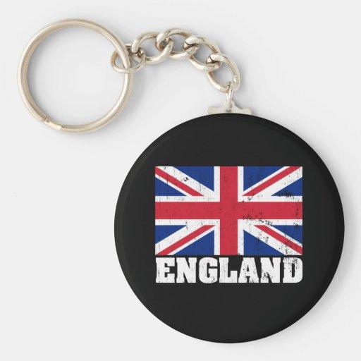 Union Jack British Flag Keychain