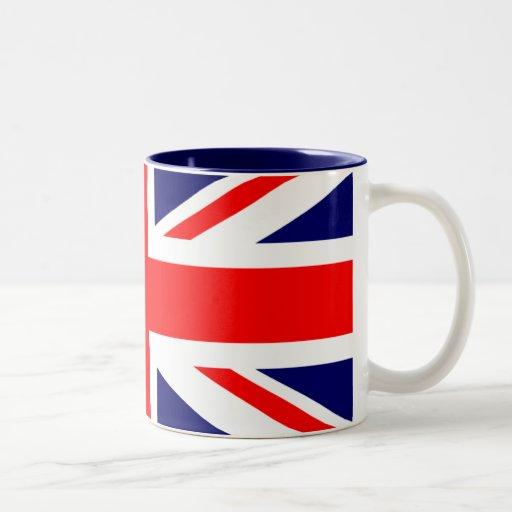 Union Jack British Flag Mugs