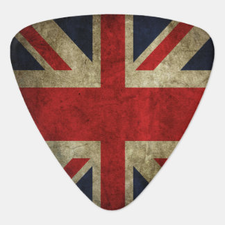 Union Jack British Flag Of England Rock and Roll Plectrum