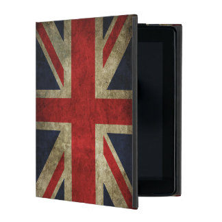 Union Jack British Flag of England United Kingdom iPad Folio Cover