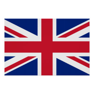 Union Jack ~ British Flag Poster