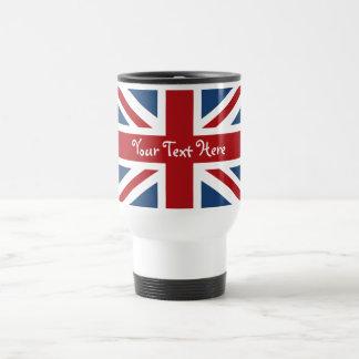 Union Jack British Flag Stainless Steel Travel Mug