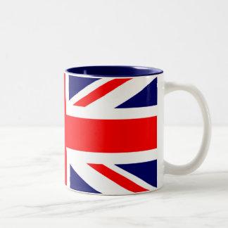 Union Jack British Flag Two-Tone Mug