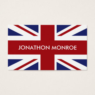Union Jack, British Flag, United Kingdom Business Card