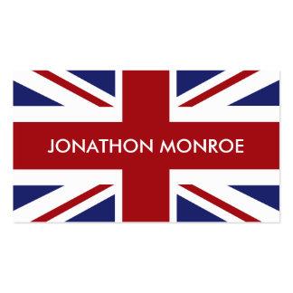 Union Jack British Flag United Kingdom Pack Of Standard Business Cards
