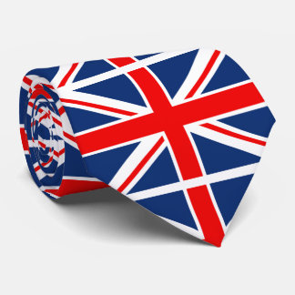 Union Jack British Tie