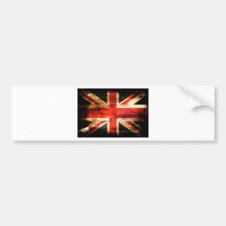 Union Jack Bumper Sticker