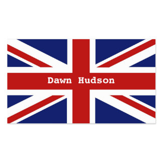 Union Jack Business Card Templates