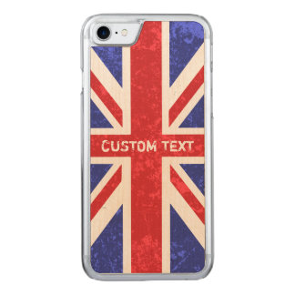 Union Jack, Carved iPhone 8/7 Case