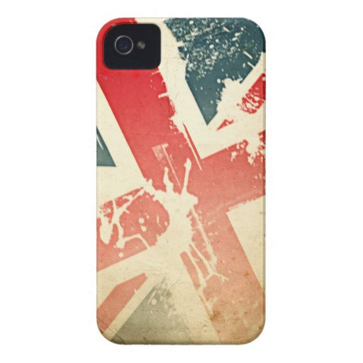 Union Jack Case Blackberry Bold Cover