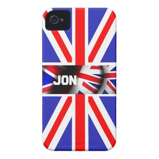Union Jack Blackberry Bold Covers