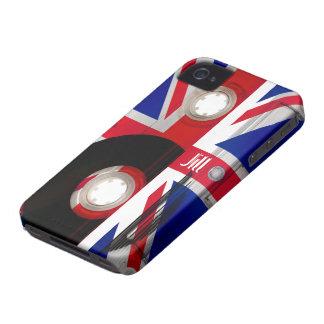 Union Jack Cassette iPhone 4 Case-Mate Case