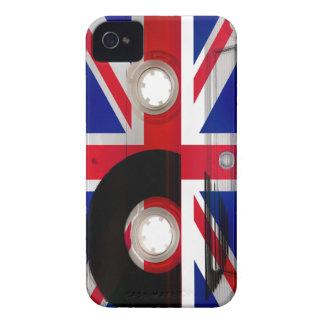 Union Jack Cassette iPhone 4 Case-Mate Cases