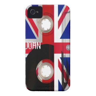 Union Jack Cassette iPhone 4 Cases
