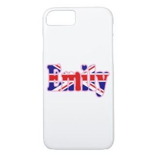 Union Jack cutout Emily iPhone 7 Case