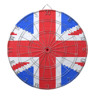 Union Jack Dartboard