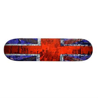 Union Jack design by SK8 CRIME Skate Boards