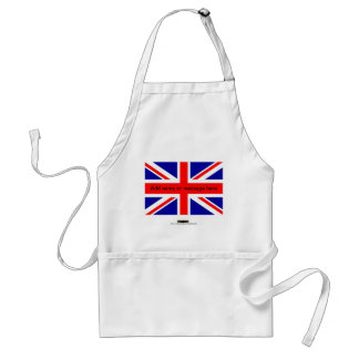 Union Jack  English flag British flag UK pom Standard Apron
