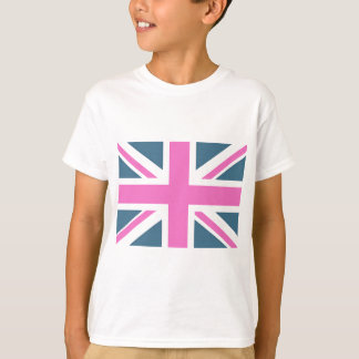 Union Jack Faded T Shirt
