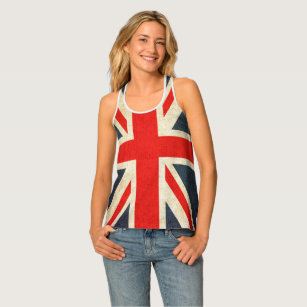 c91f206e9ae0f2 Union Jack Flag All-Over Print Racerback Tank Top