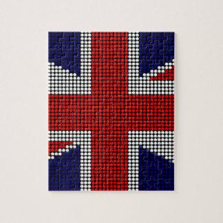 Union jack flag british flag jigsaw puzzle