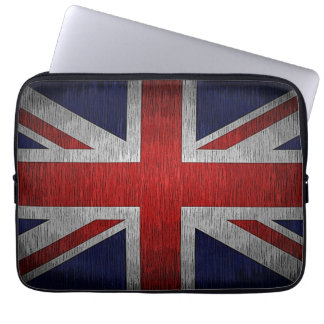Union Jack Flag British Neoprene Laptop Sleeve