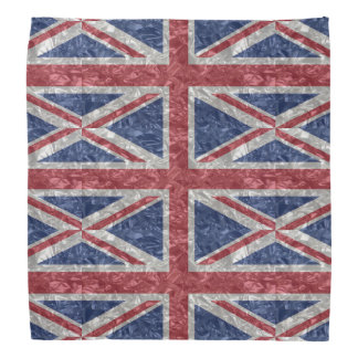 Union Jack Flag - Crinkled Bandana