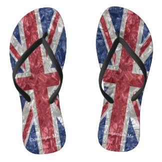 Union Jack Flag - Crinkled Thongs