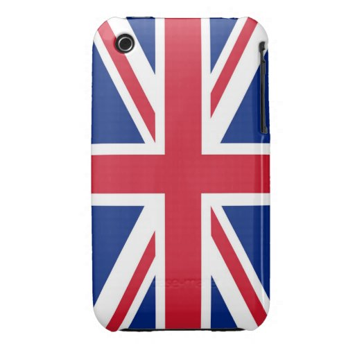 Union Jack Flag Design Blackberry Curve case iPhone 3 Case-Mate Case