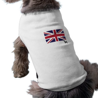 Union Jack Flag Dog Tee