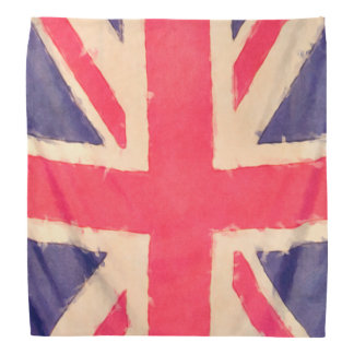 UNION JACK FLAG grunge Kerchief