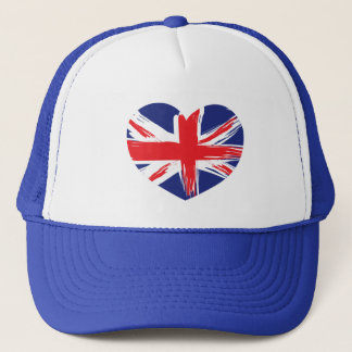 Union Jack Flag Hat/Cap Trucker Hat