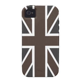Union Jack Flag iPhone 4 Tough Case