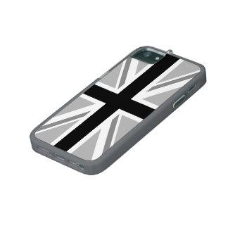 Union Jack/Flag Monochrome iPhone 5/5S Covers