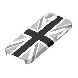 Union Jack/Flag Monochrome iPhone 5 Case